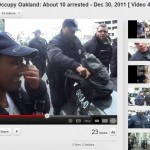 OPD arresting Occupy Oakland Protesters – Dec 30, 2011