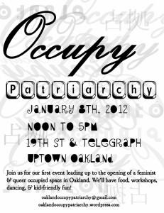 occupypatriarchy