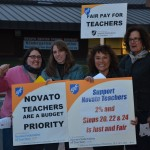 NUSD Teachers Protesting 2/28/2012