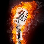microphone-on-fire