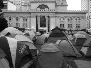 Tents at #OccupyOakland