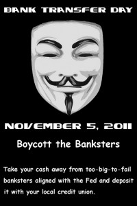Remember, Remember the 5th of November. Get all of your Cash out of Banks.