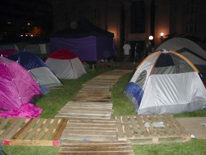 The walkways through #OccupyOakland