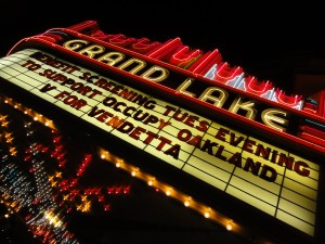 Oakland's Grand Lake Theater Benefit Film for Occupy Oakland - Dec 13, 2011