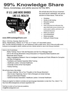 Know Your Rights: A training in support of 120 Hrs of Protest @ Grassroots House | Berkeley | California | United States