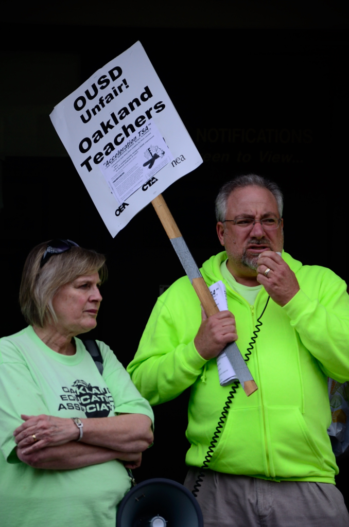oakland education association solidarity actions - 03  28  2012 photos