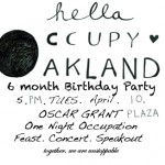 hella occupy oakalnd April 10th