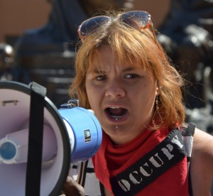 Nevada State not letting Oakland Occupy seven years old boy come back to California, mother pleads for help. 5/20/2012