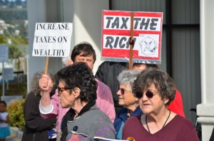 Tax the Rich Rally and Singalong - Occupella @ In front of Chase Bank | Berkeley | California | United States