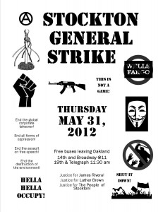 Stockton Gen Strike flyer internet