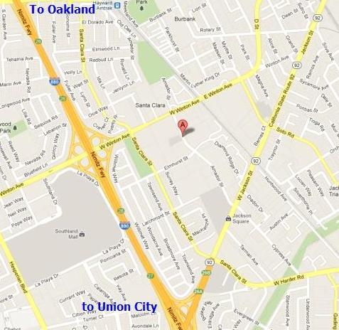 Hayward Courthouse 24405 Amador St Hayward CA 94544