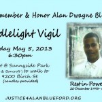 We remember Alan Dwayne Blueford, card-flyer