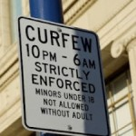 curfew-sign