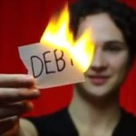 burning-debt-woman