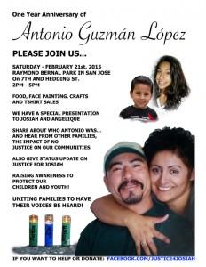 Antonio Guzman Lopez 1yr Anniversary @ Raymond Bernal Park, San Jose, CA | San Jose | California | United States
