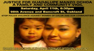 Justice for Guadalupe Manzo Ochoa @ Oakland | California | United States