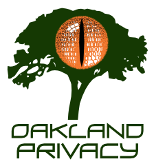 Oakland Privacy: Fighting Against the Surveillance State @ ONLINE, VIA 'ZOOM' - SEE BELOW