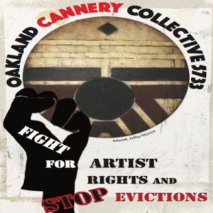 Fight Potrification! Oppose the eviction of the Oakland Cannery artists' collective @ City Hall, Council Chambers, 3rd Floor | Oakland | California | United States
