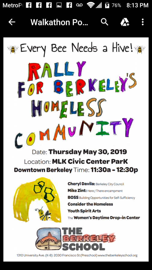 Rally for Berkeley's Homeless Community @ MLK Civic Center Park