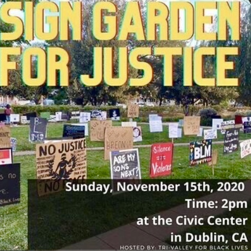 Sign Garden for Justice - Threatened! @ Civic Center